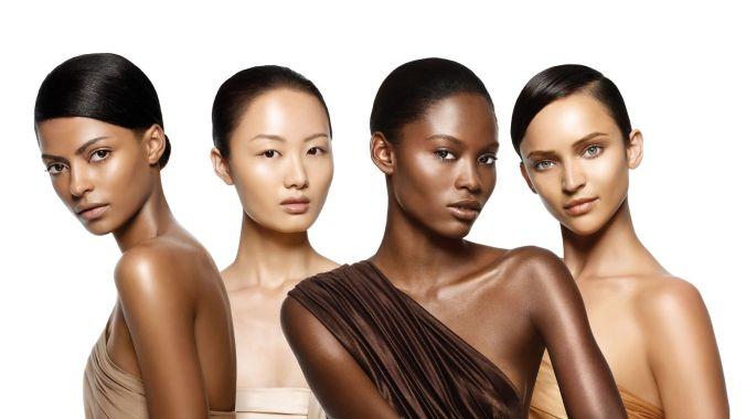 multi-ethnic skin
